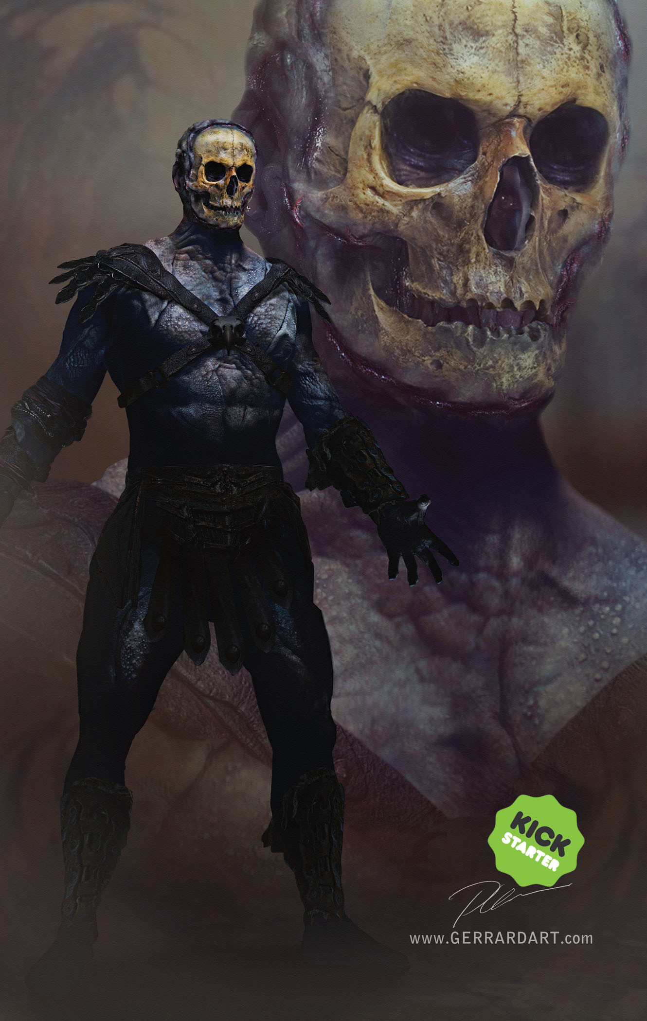 Paul gerrard retroh skeletor 01