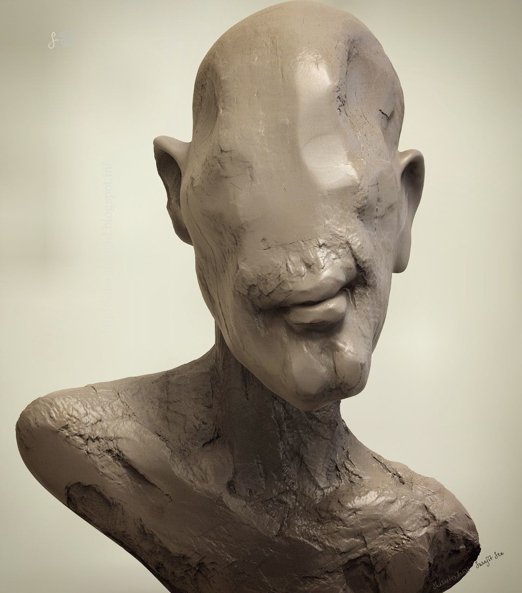 #doodle #quicksculpt #fun   One of my old concept sculpts  :)  Just played with brushes!