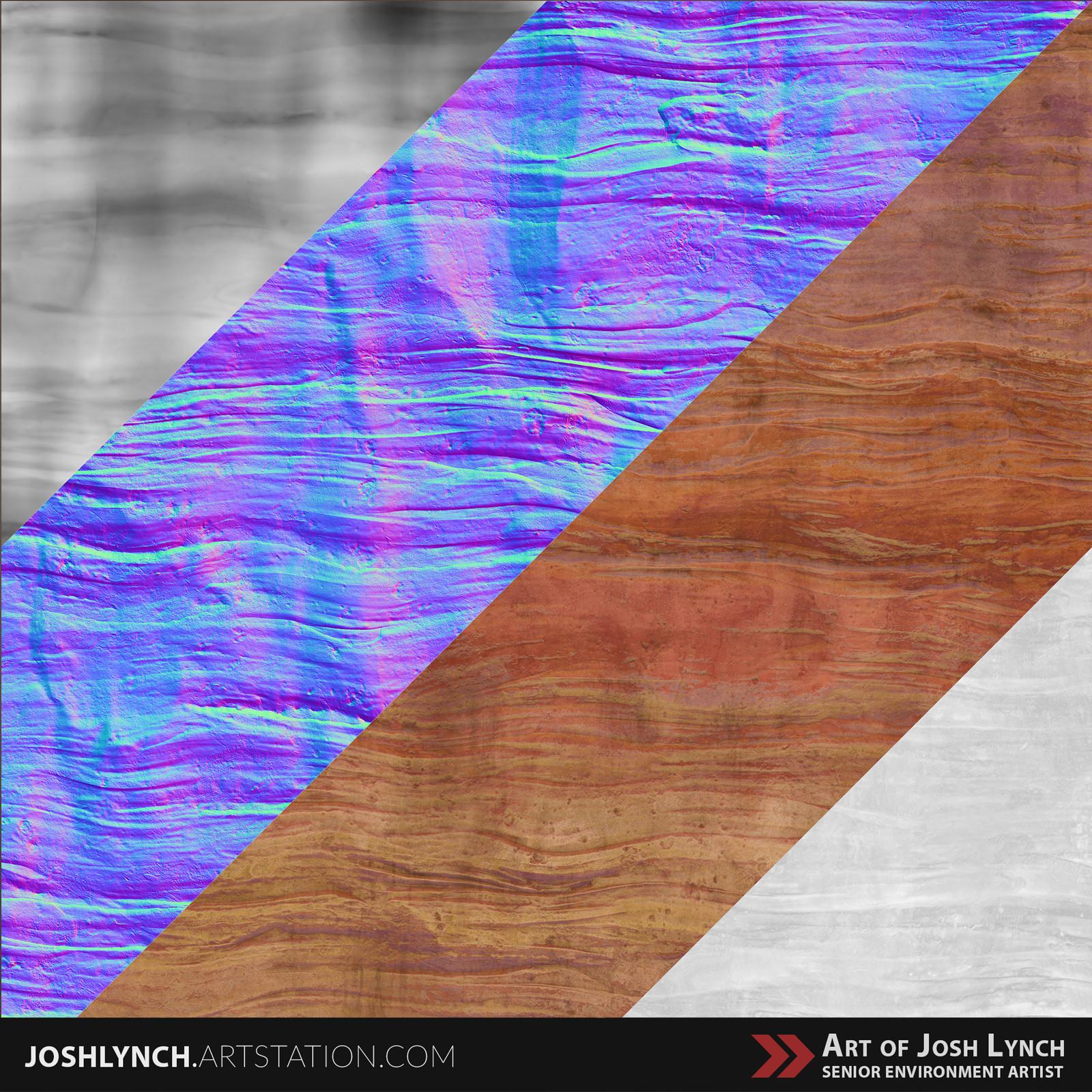 Joshua lynch rock wall 03 layout comp sqyare textures