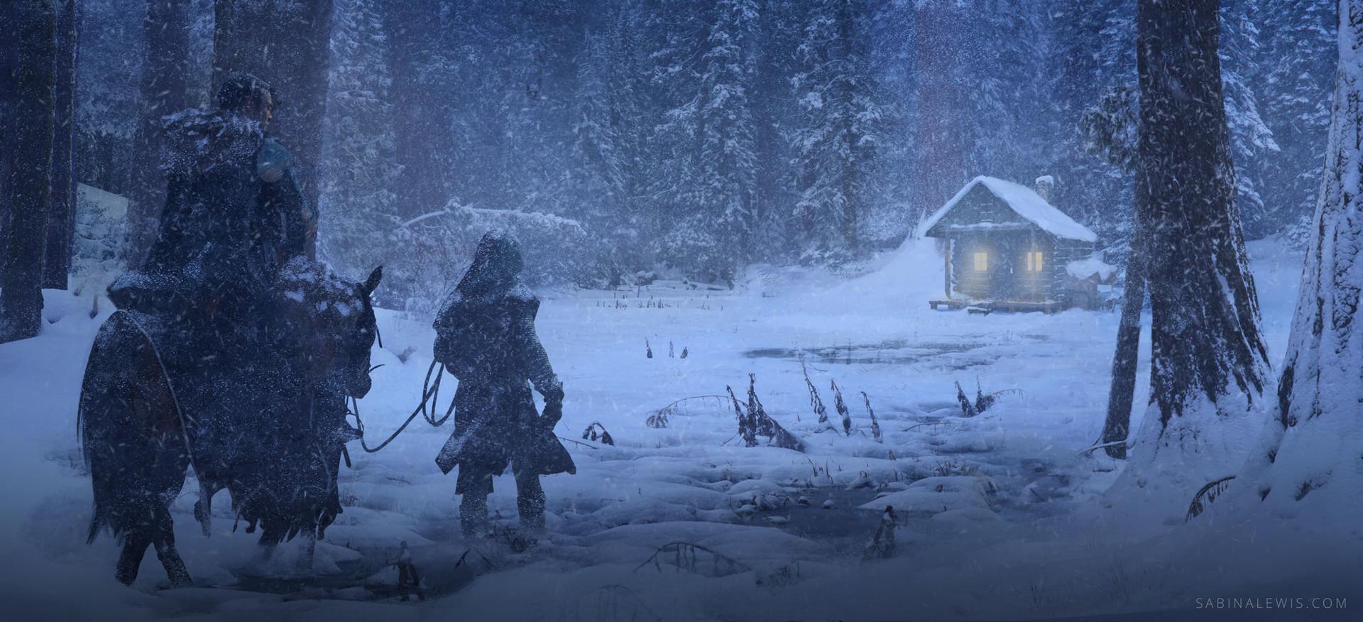 Sabina lewis snowyforest final
