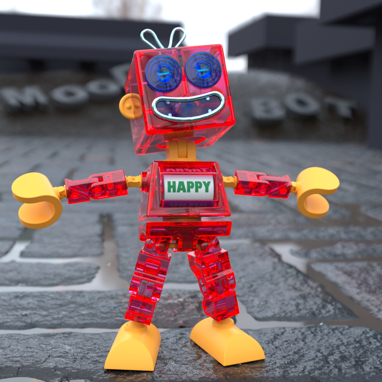 Anthony rosbottom mood bot happy 40