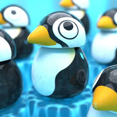 Giacomo tappainer pinguino render 03