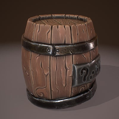 Game prop - Stylized Barrel