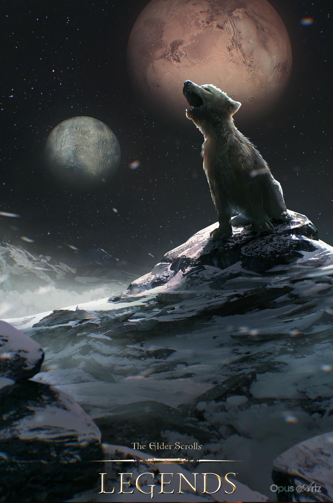 Opus artz tesl young wolf