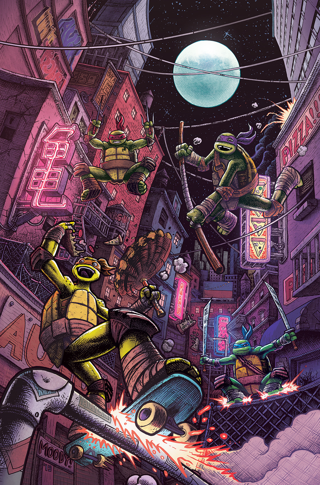 TMNT Amazing Adventures #13 cover, no cover dressing.