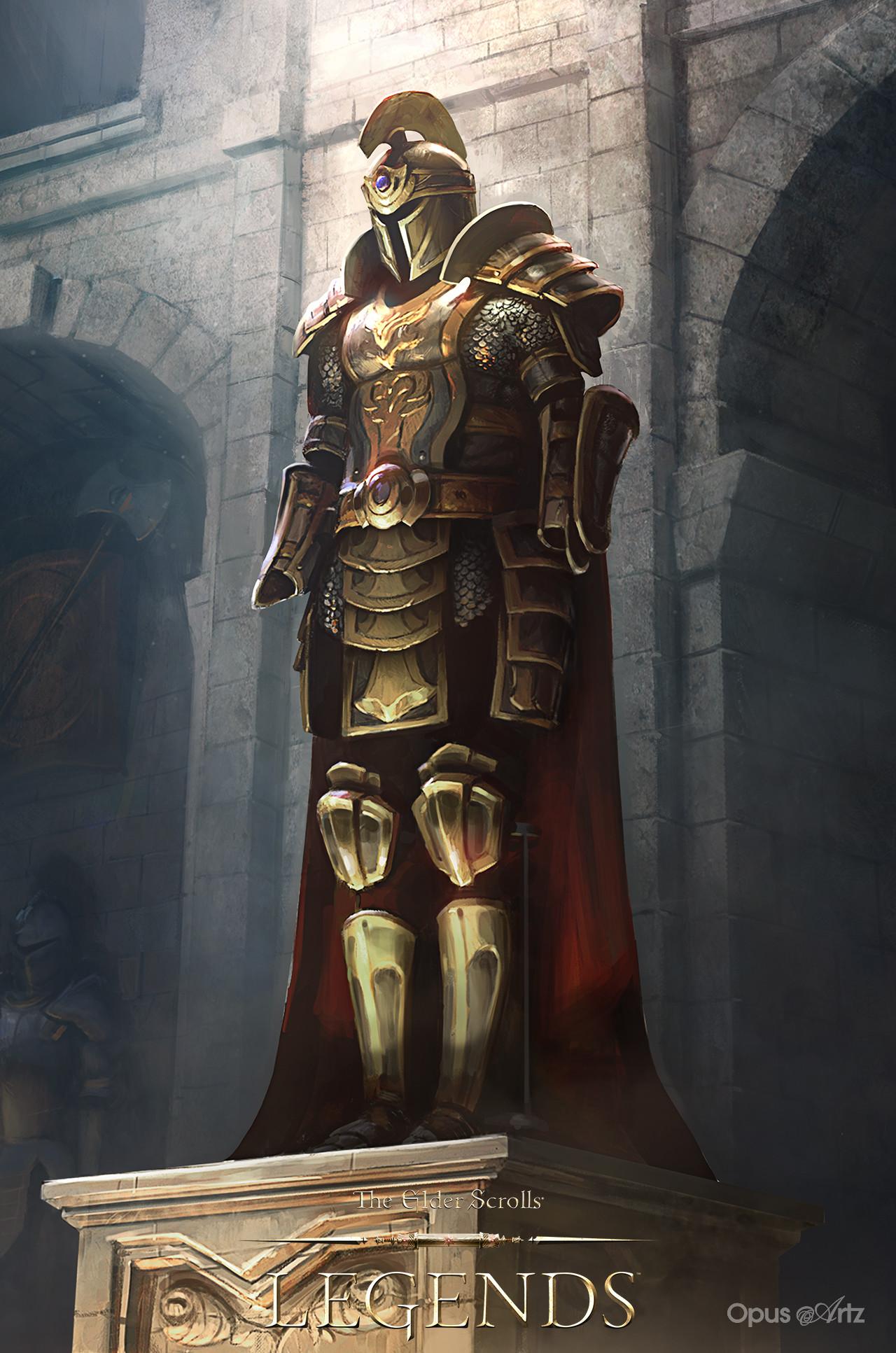 Opus artz tesl majestic armour