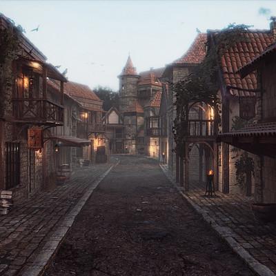 Pietro chiovaro medieval town firma