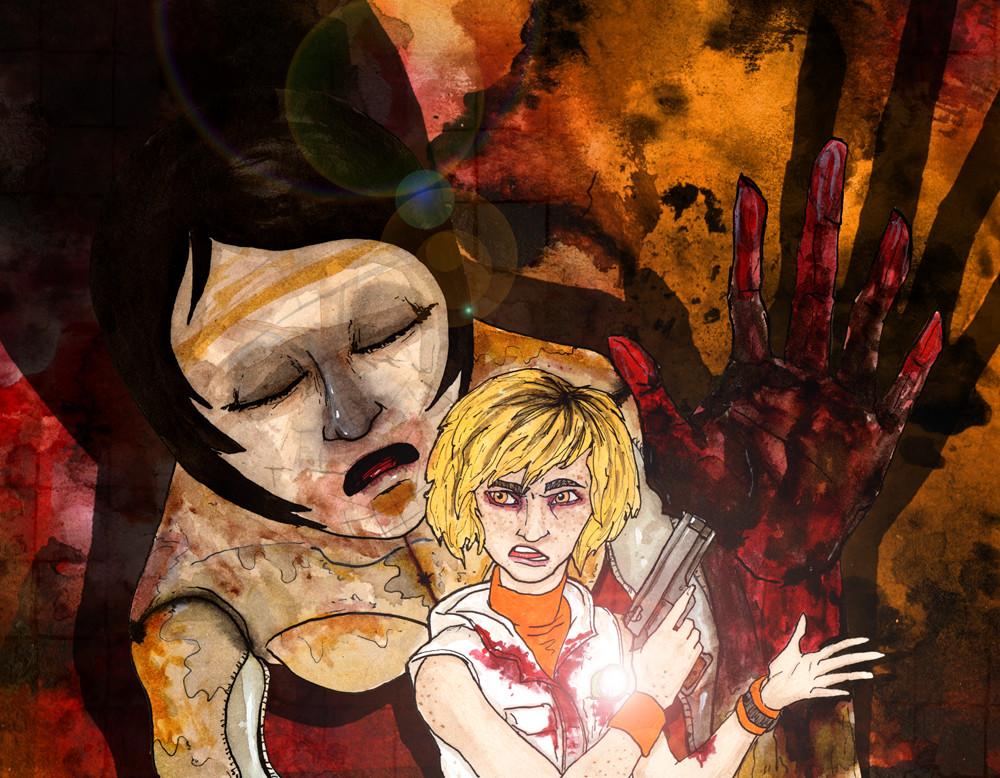 Artstation Silent Hill 3 Anniversery Thomas Roberts Goulden