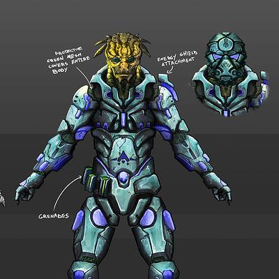 Danny kundzinsh vrinn mongol character concept art final 4p