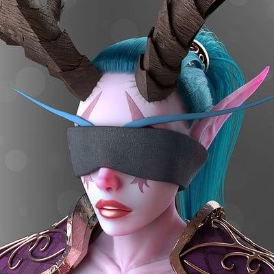 Night Elf (Warcraft Fan Art)