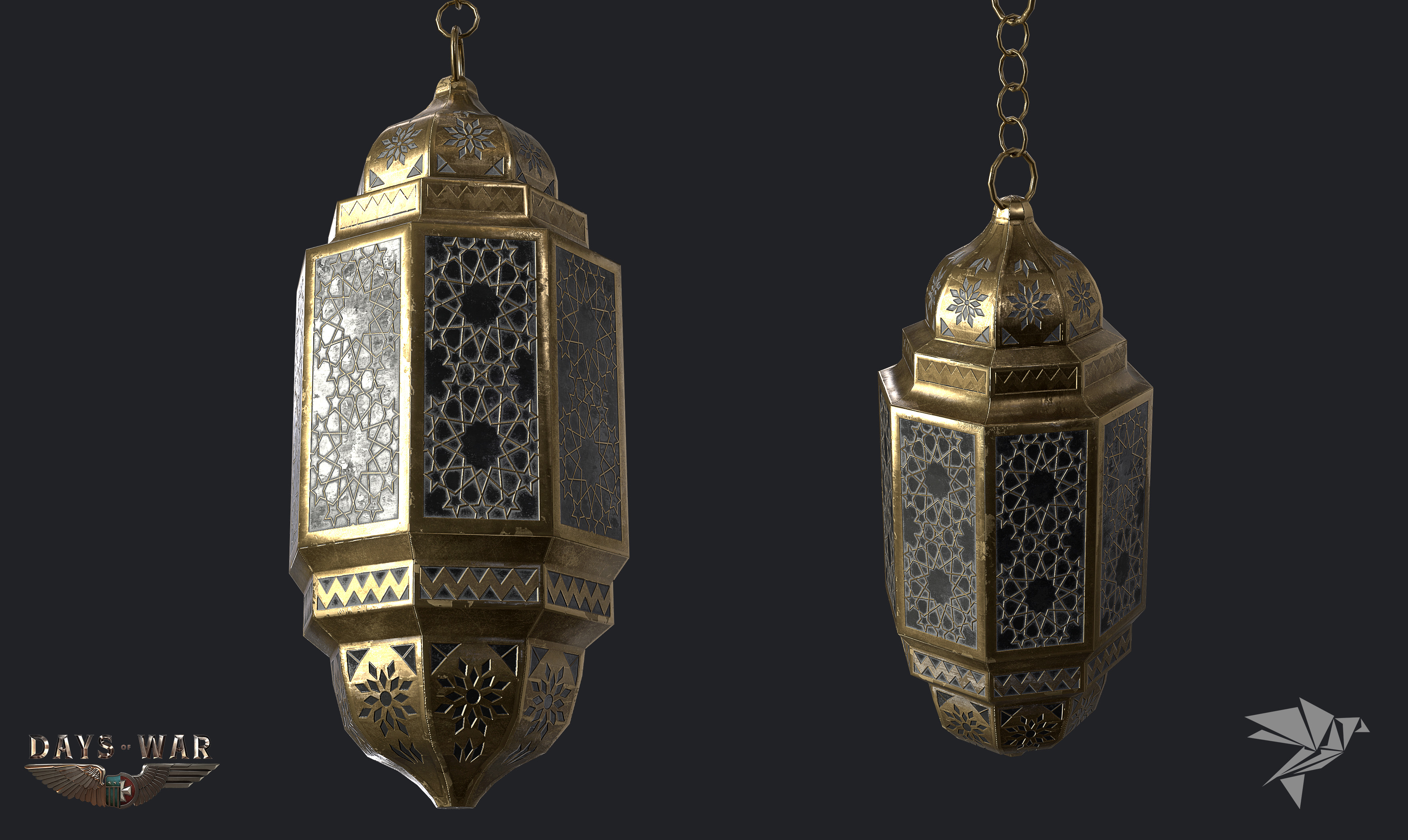 French-Morocco Lamp