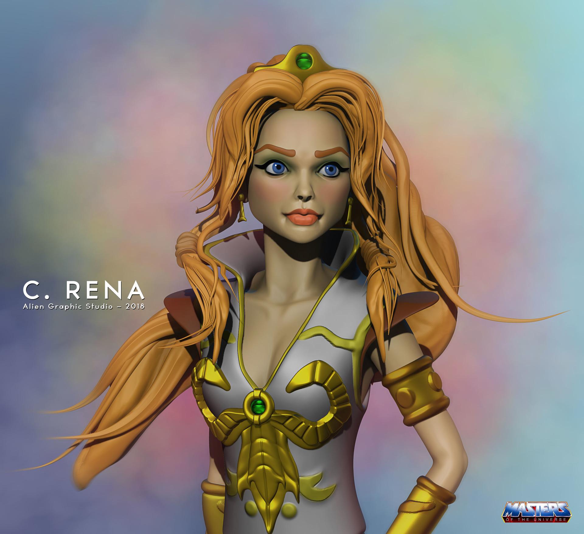 """""""Teela"""" illustration"""