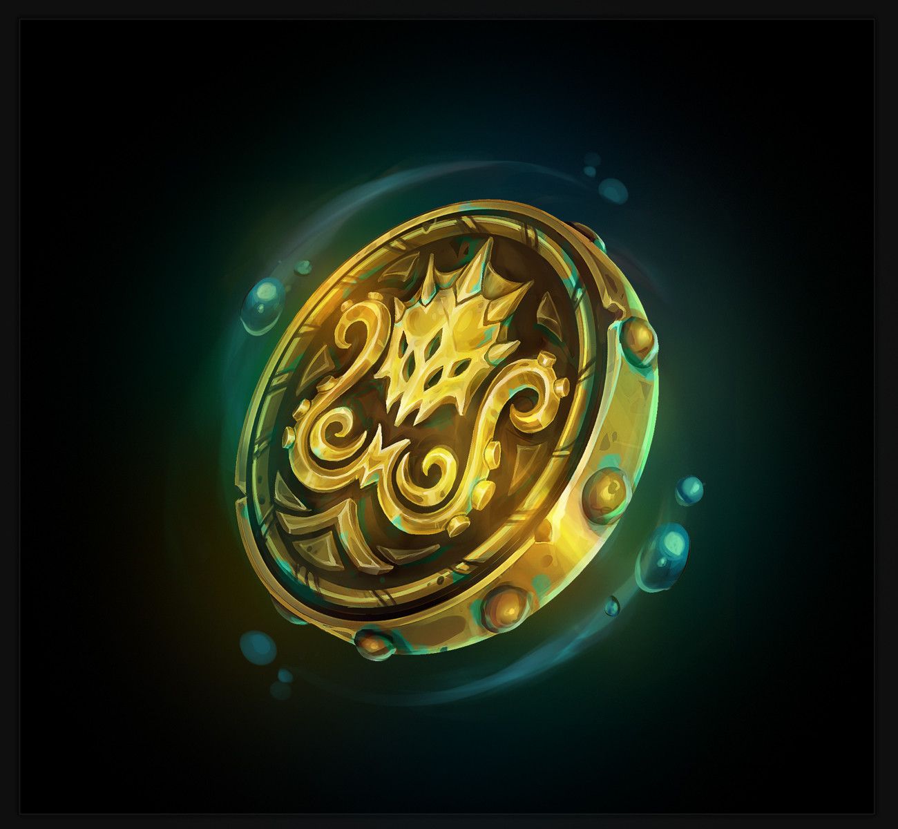 """Curse of the Drowned"" Token"