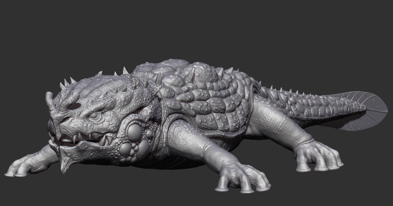 Ricardo graham giant salamander zbrush02