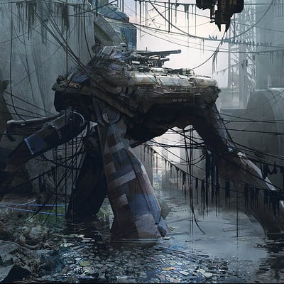Thomas pringle abandoned mech