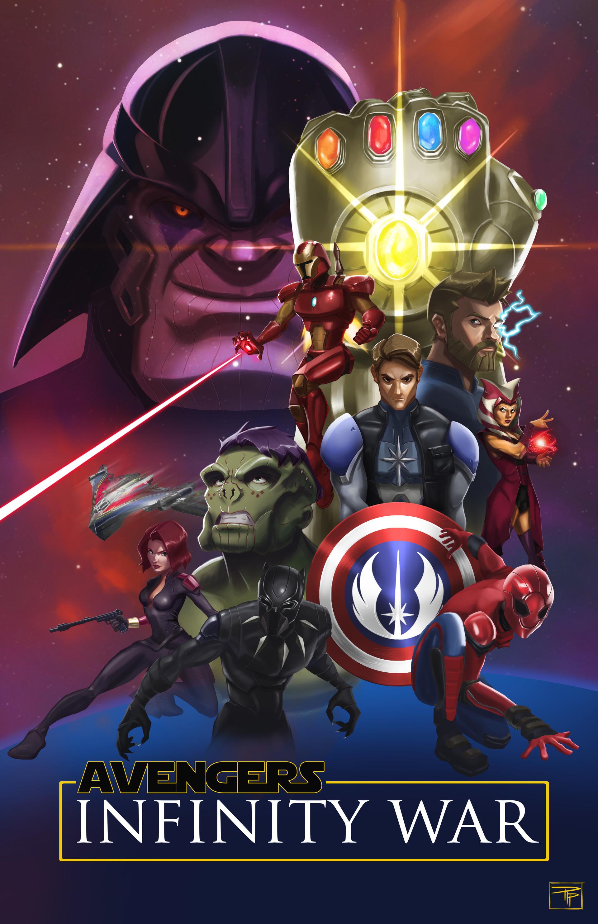 Artstation Star Wars Avengers Pip Reyes