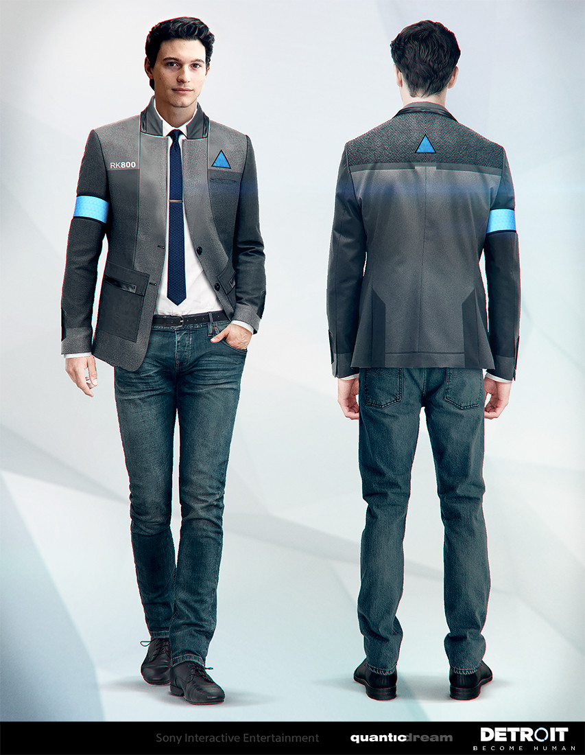 Pierre Bertin Detroit Become Human Connor Android Costume