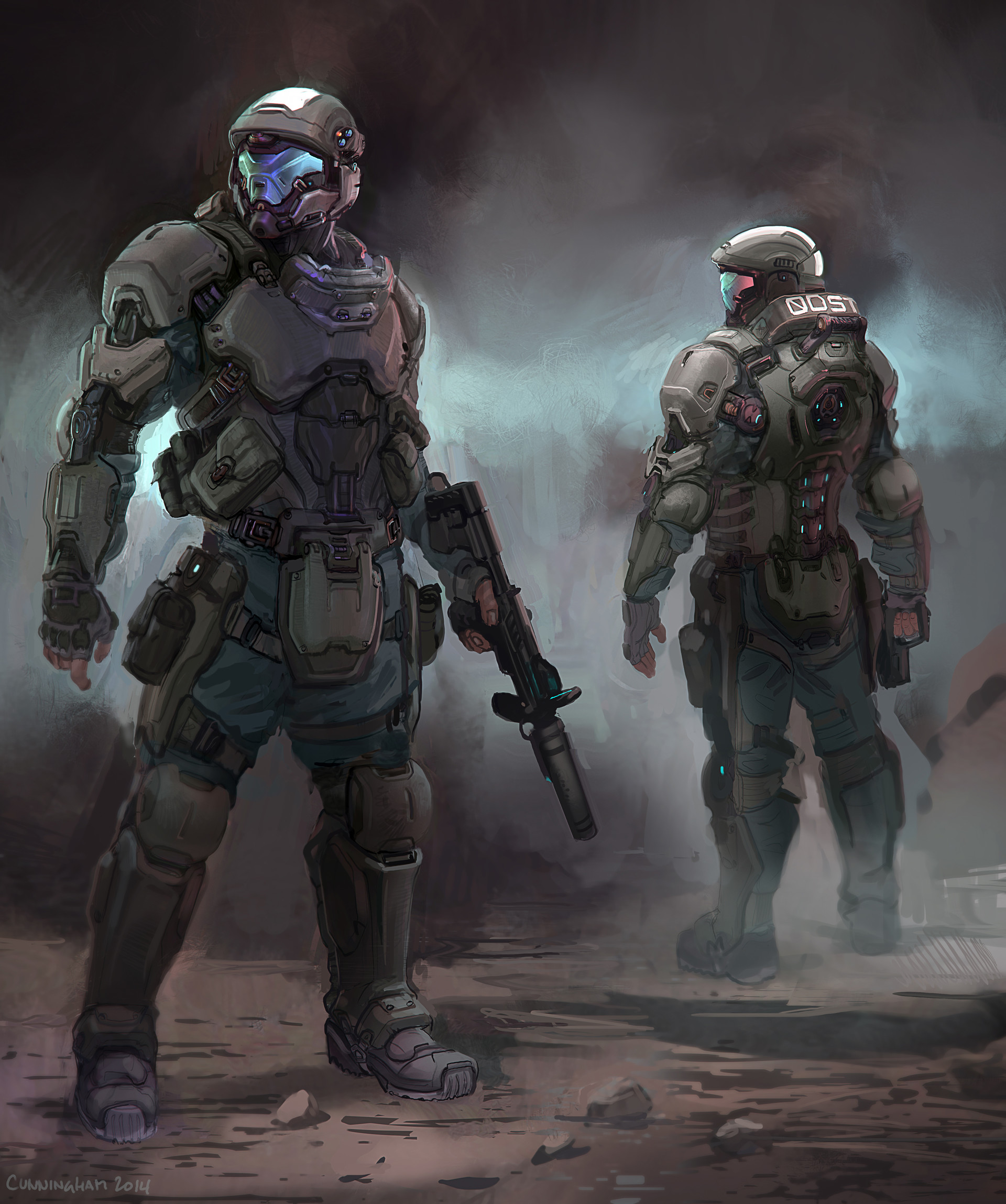 Halo 5 guardians odst by alex j cunningham halo halo 5 guardians odst by alex j cunningham publicscrutiny Image collections