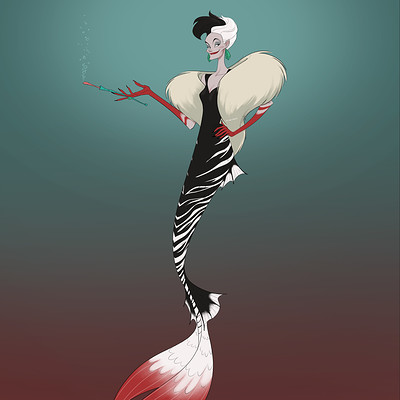 Christopher ables mermaid cruella