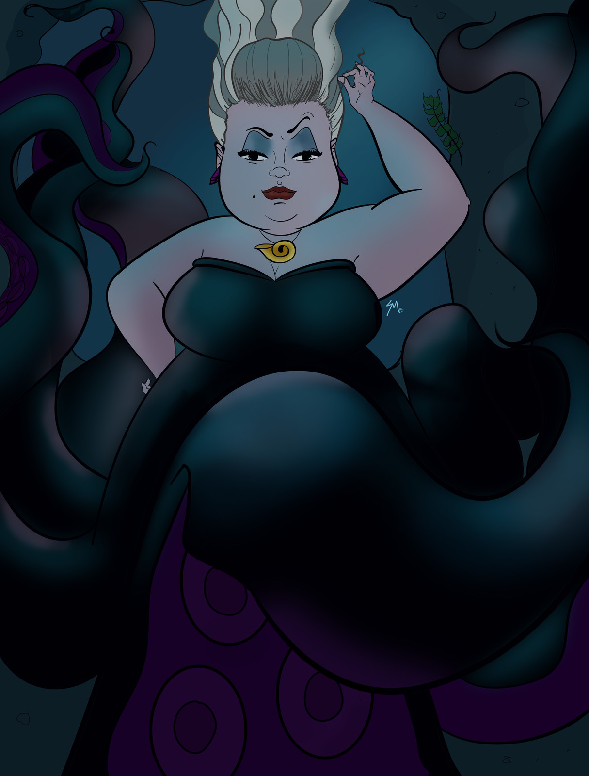 Ursula Digital Painting