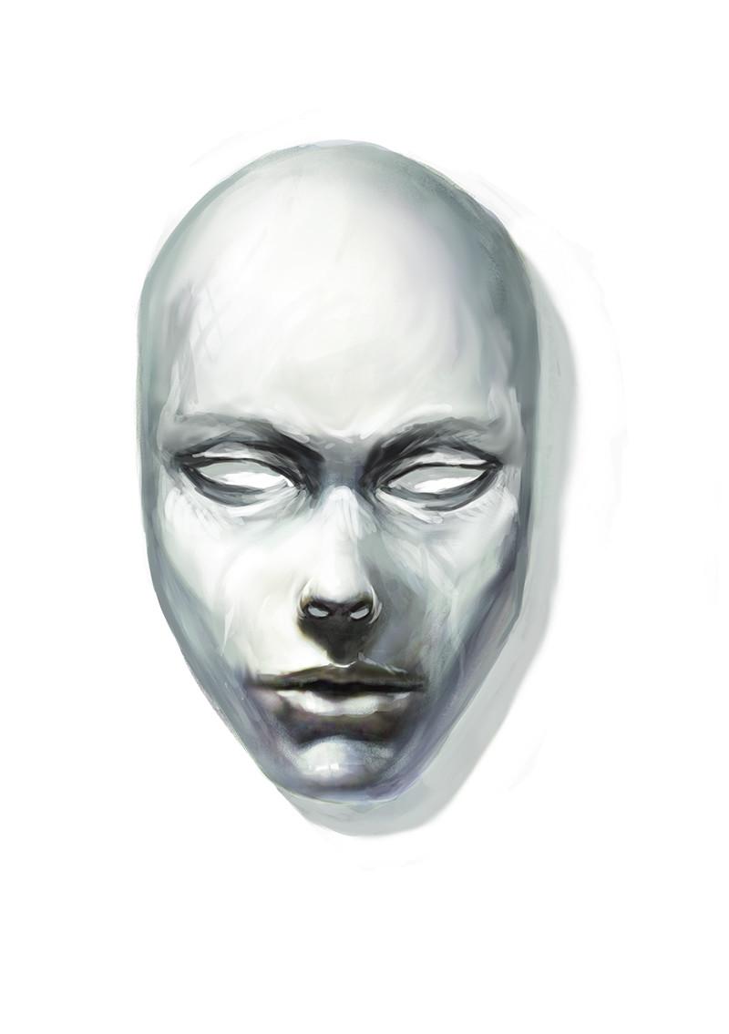 """Le masque aux 1001 vies (""""The 1001 lives mask"""")"""