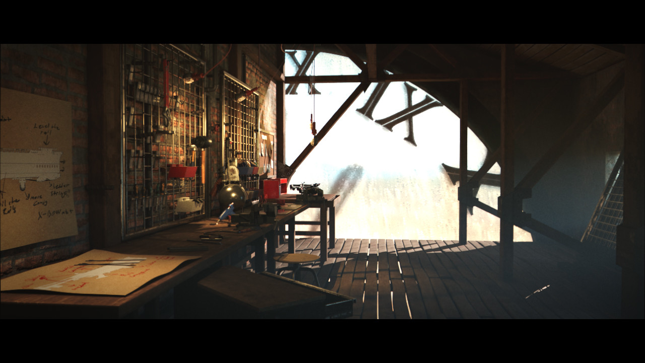 ArtStation - XI - VFS End of Year Demo Reel, Emre Rencberoglu