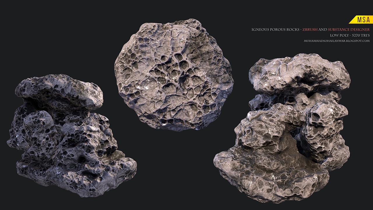 Artstation Iceland And Some Other Rocks Muhammad Sohail Anwar