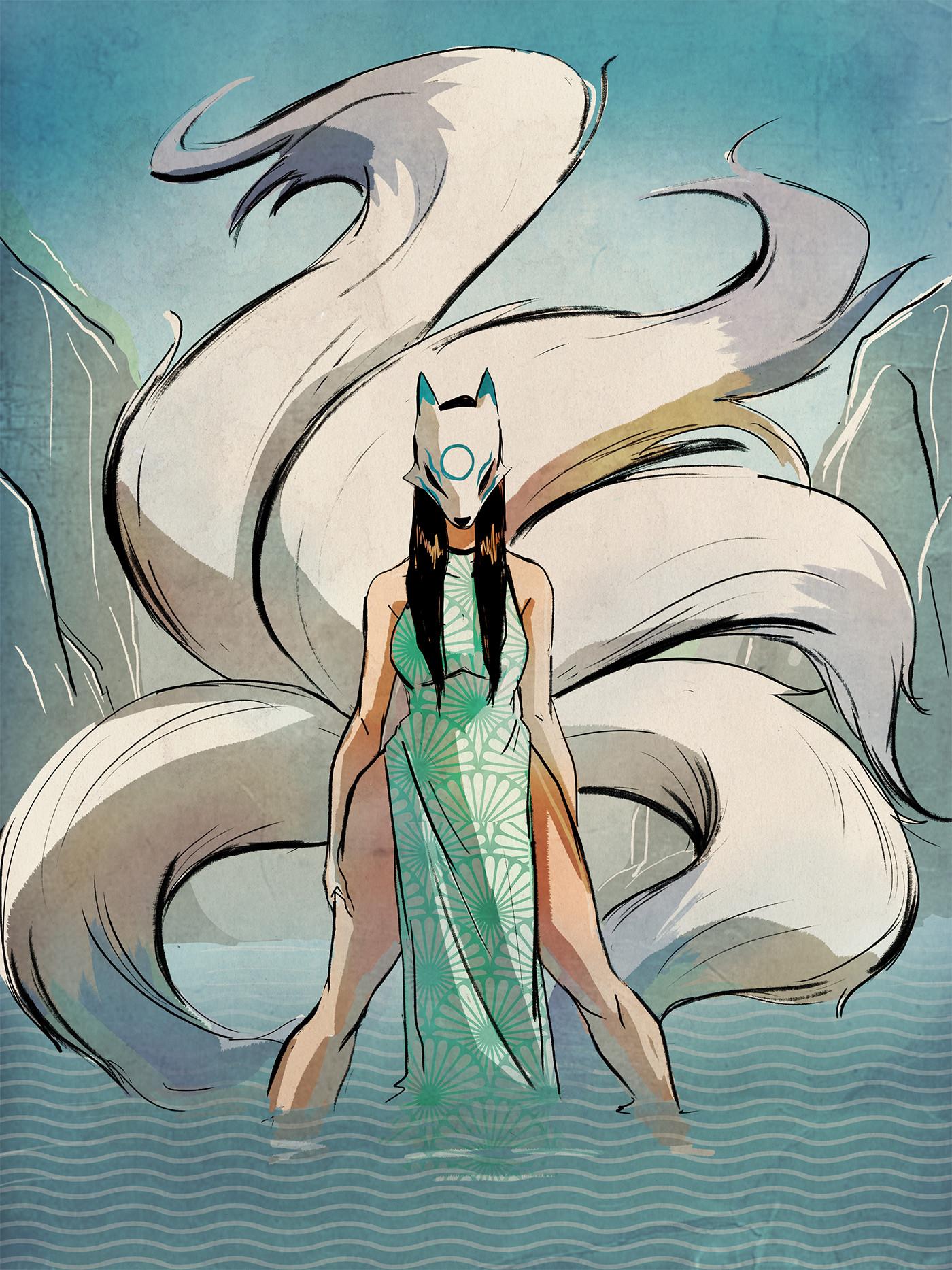 Lamaro smith jinja kitsune forest 0002 jinja kitsune river