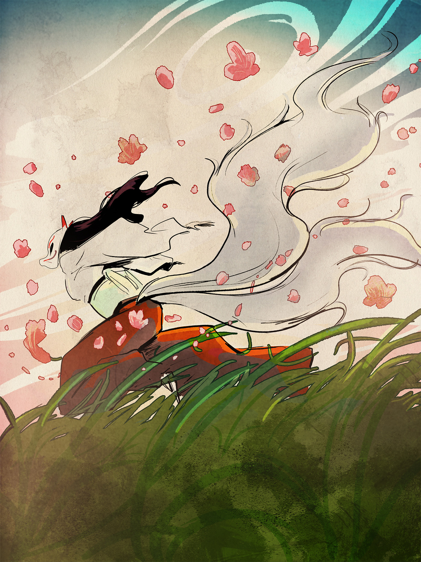 Lamaro smith jinja kitsune forest 0001 jinja kitsune wind