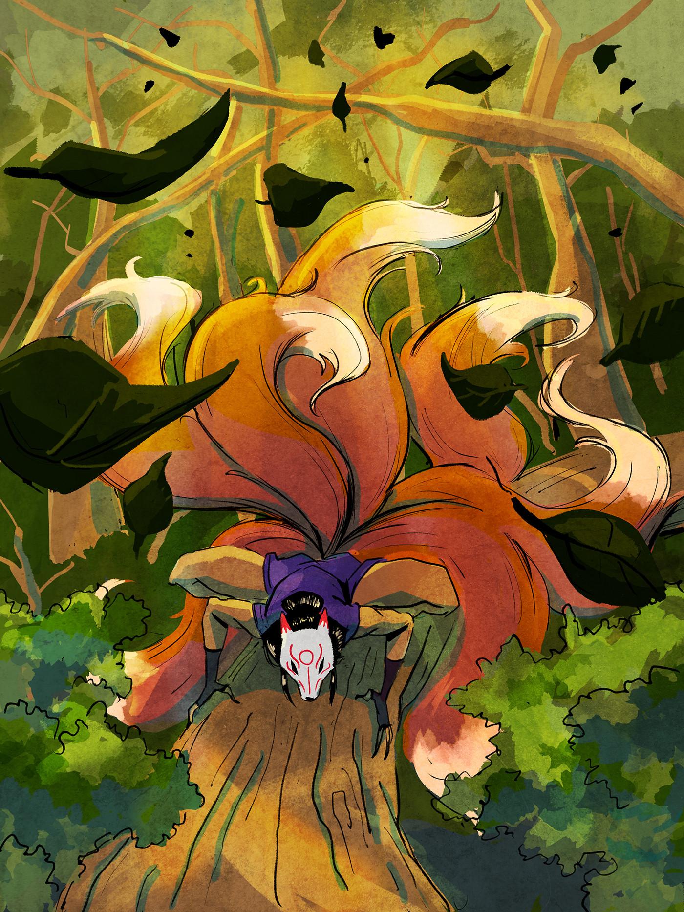 Lamaro smith jinja kitsune forest 0011 jinja kitsune forrest