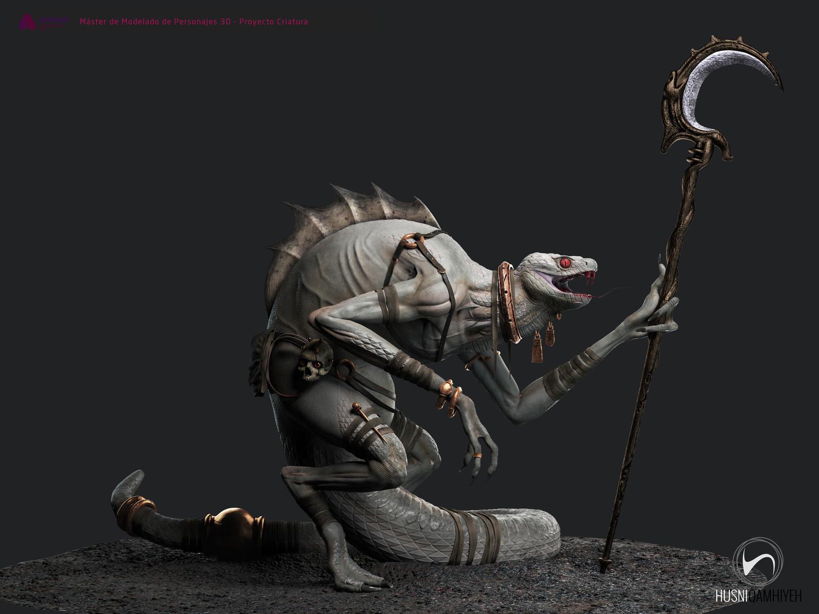 3D model by Husni Qamhiyeh https://www.artstation.com/artwork/zq6NZ
