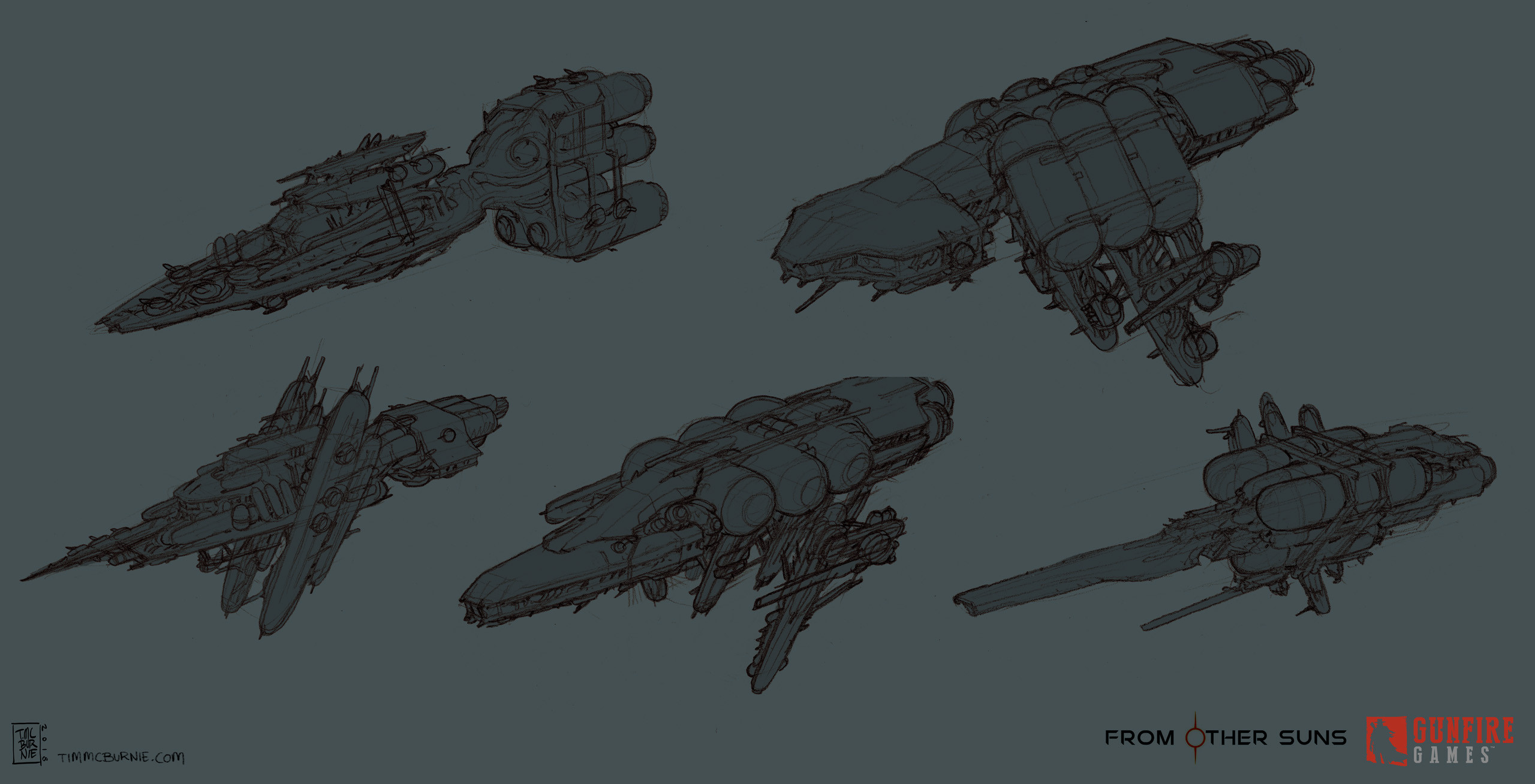Pirate Battleship sketches