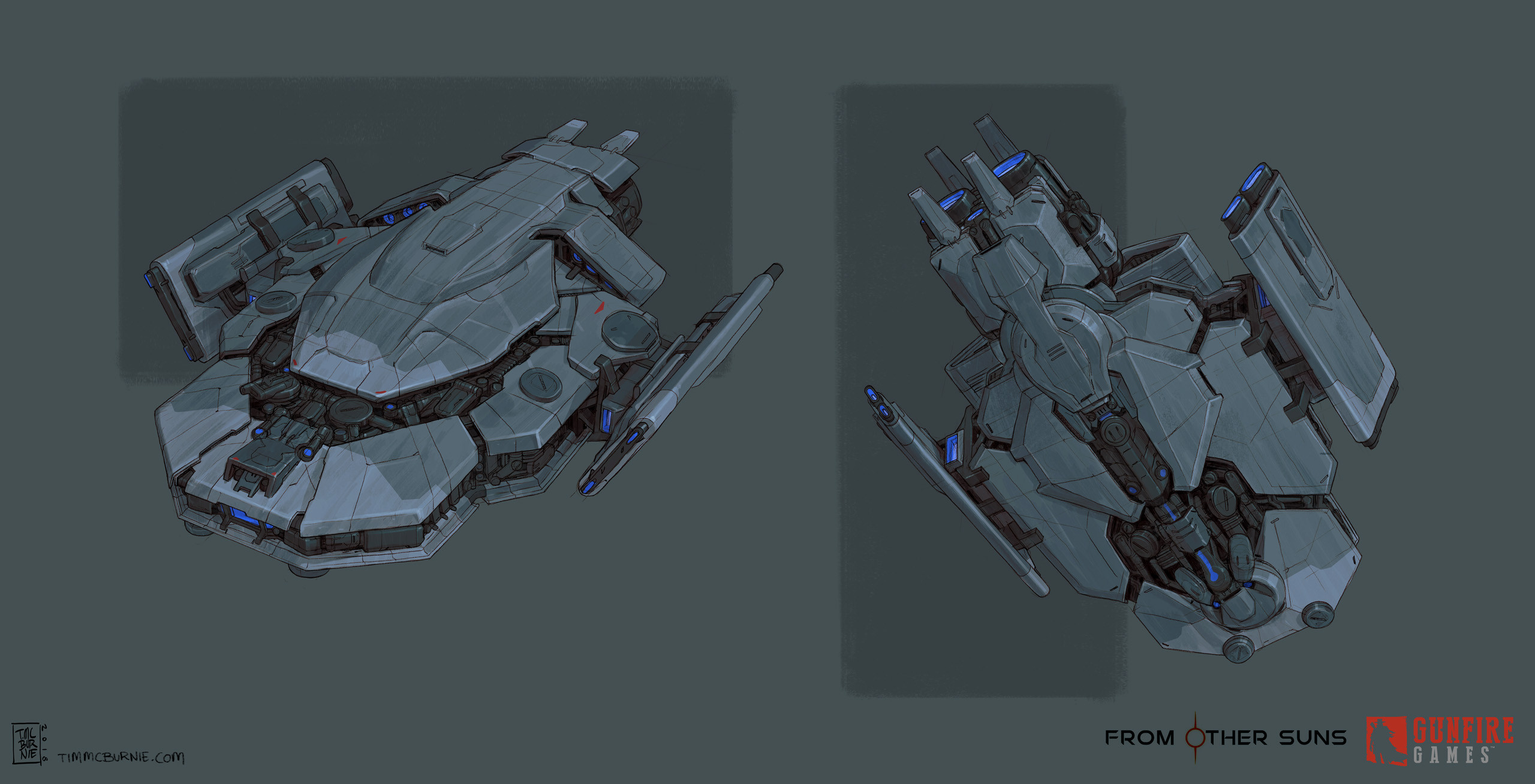 Initial Player Ship