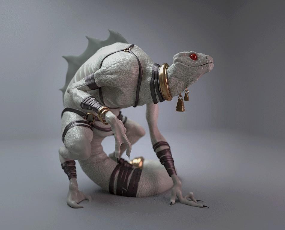 3D model by Xavier Dabrowski  https://www.artstation.com/artwork/g5ln8