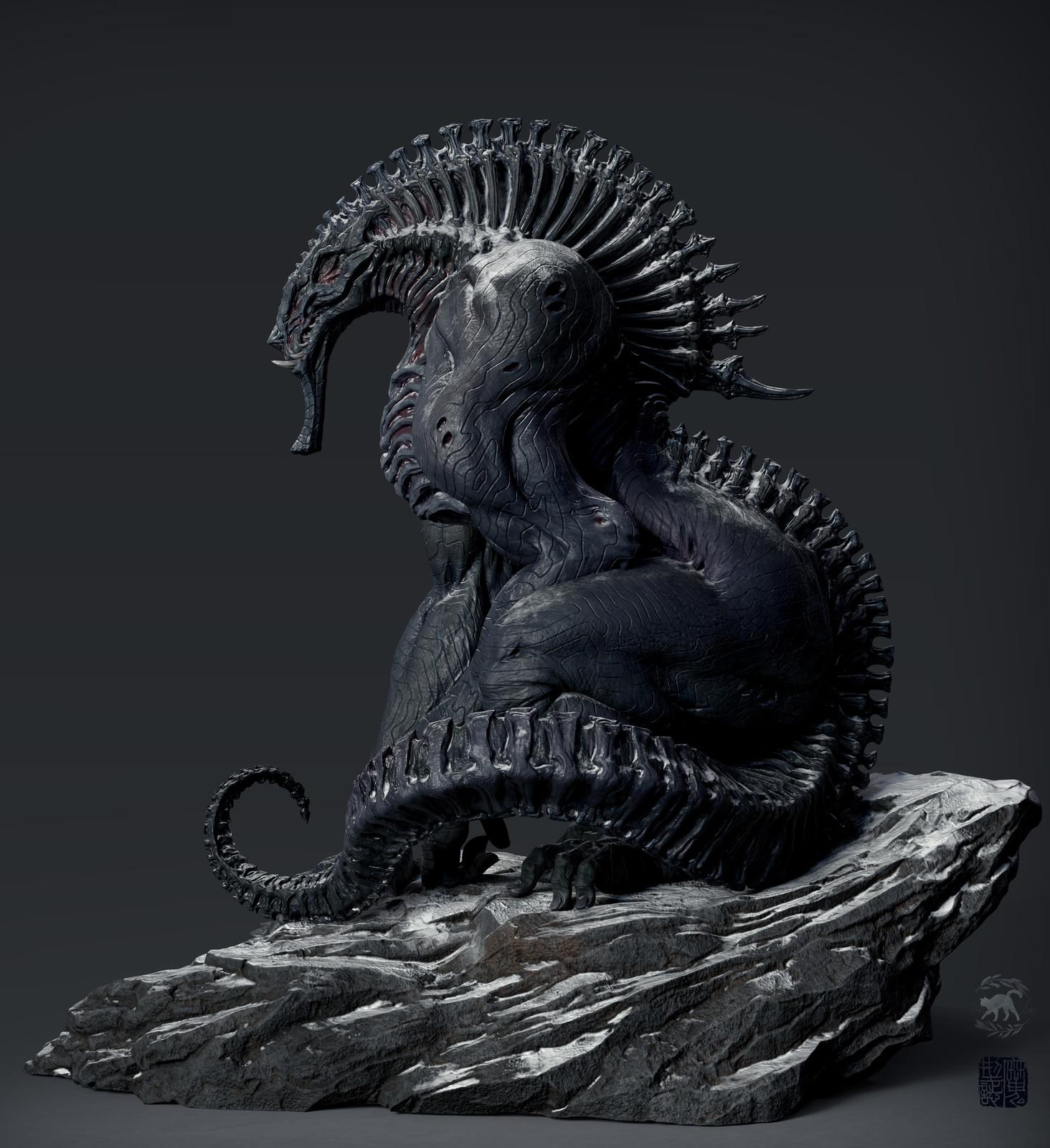 3D model by Xinhang C   https://www.artstation.com/artwork/WOE5J