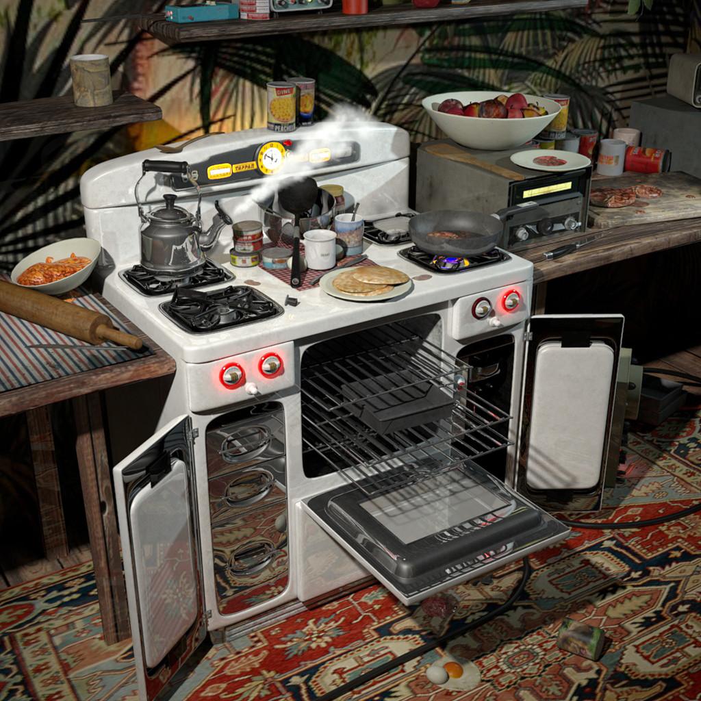Nathan clark stove steam lg