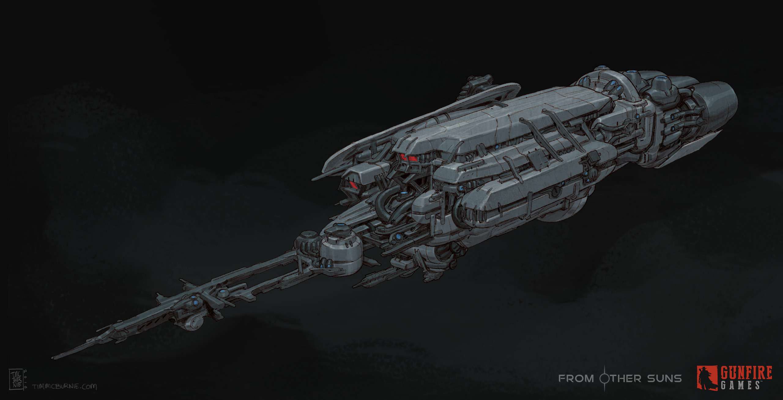Pirate Battleship - Front view - Initial Stage