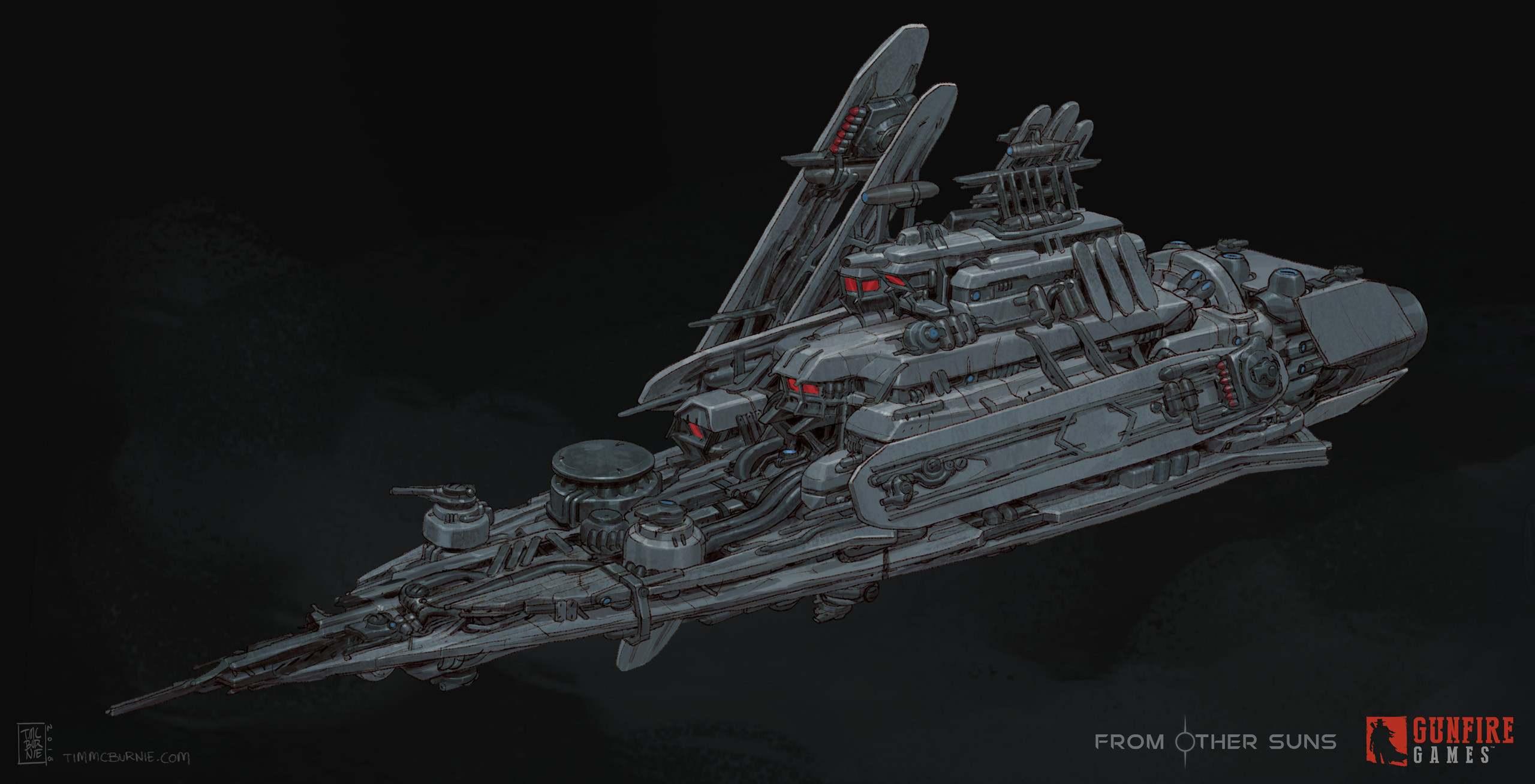 Pirate Battleship - Front View - Ultimate Stage