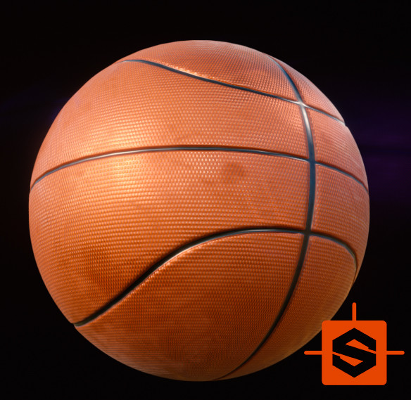 Basket Ball 01_03 - Substance Designer