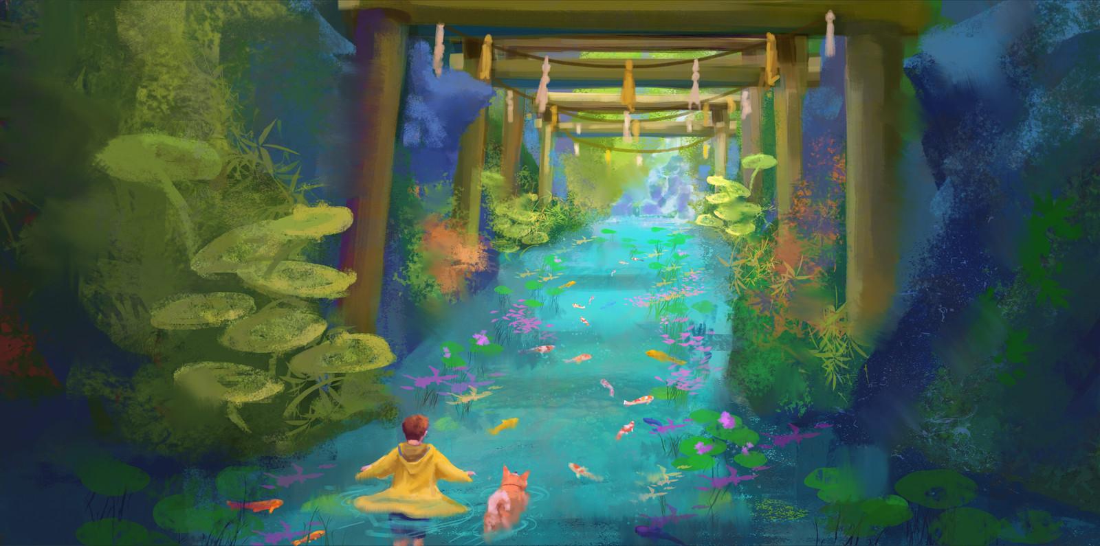 Water walk