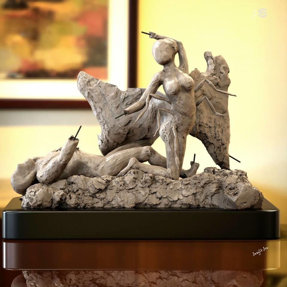 Surajit sen lumia concept sculpt 01062018 a1 insta