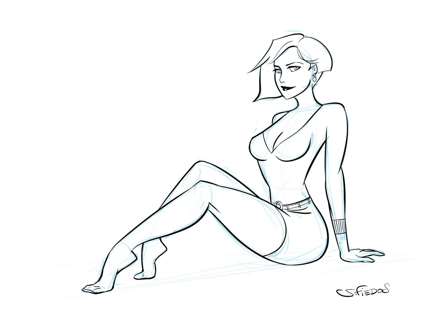 Serge fiedos quickpinupgirl by serge fiedos wip1