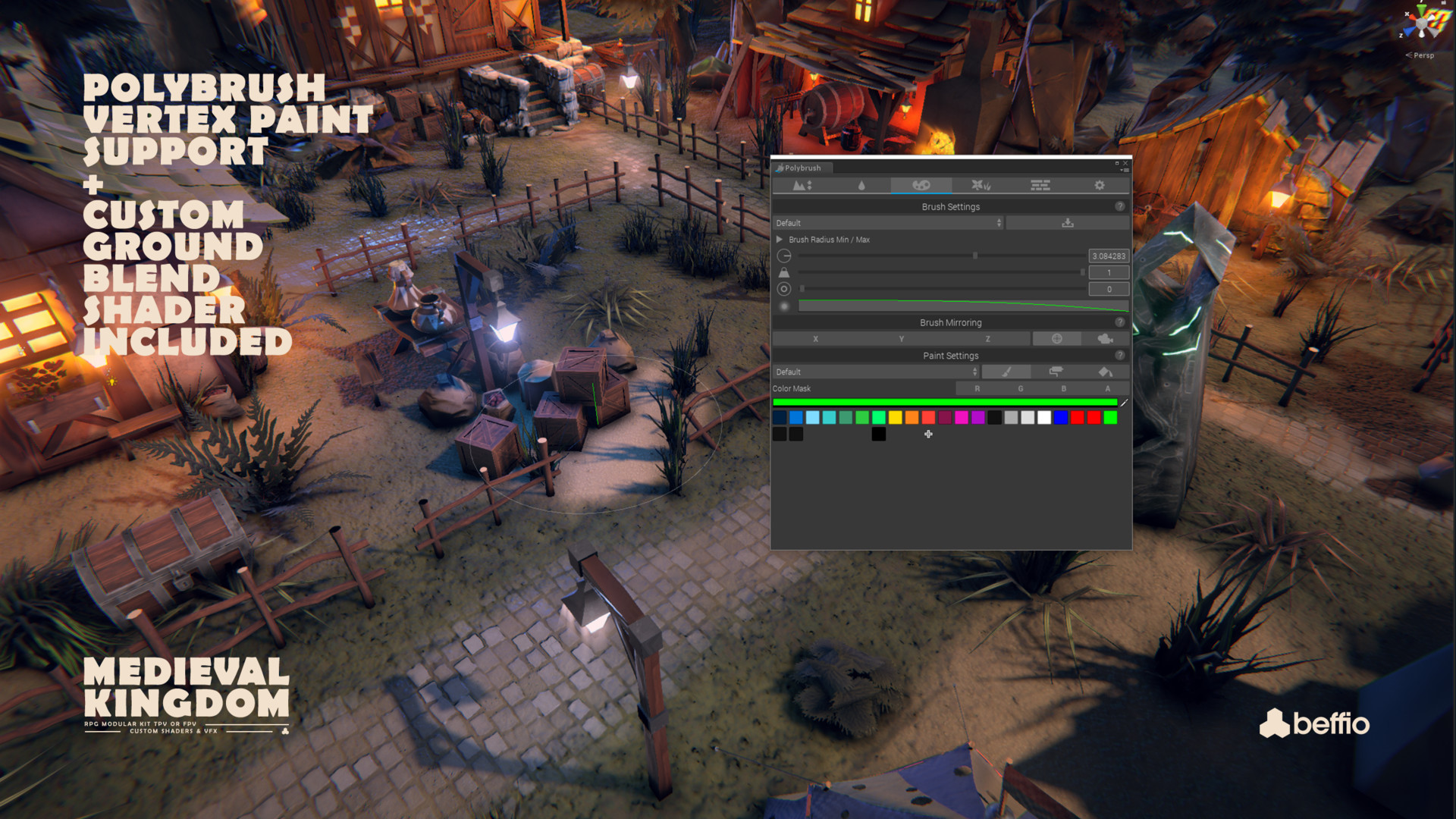 ArtStation - Medieval Kingdom - Unity3D, beffio studio