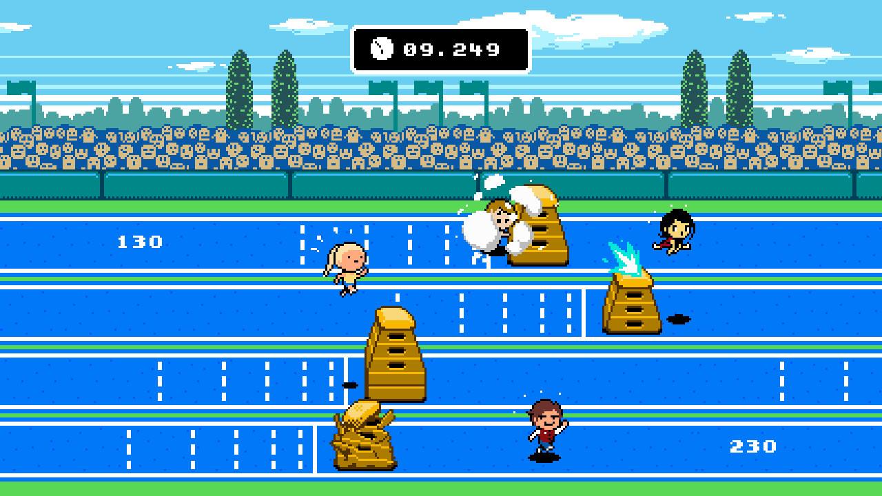 Jim svanberg sportmatchen 250m plint sprint