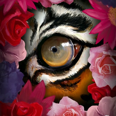 Ali alola eye of the tiger flower grden fnaal ali3alola
