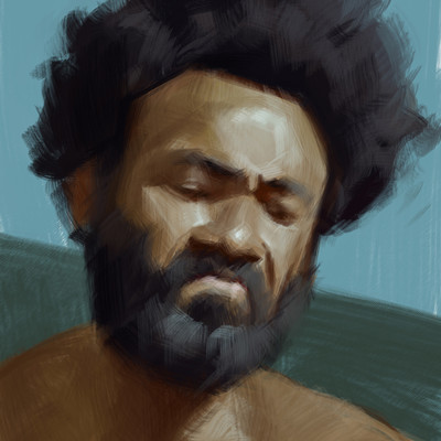 Jan wah li childish gambino portrait 01