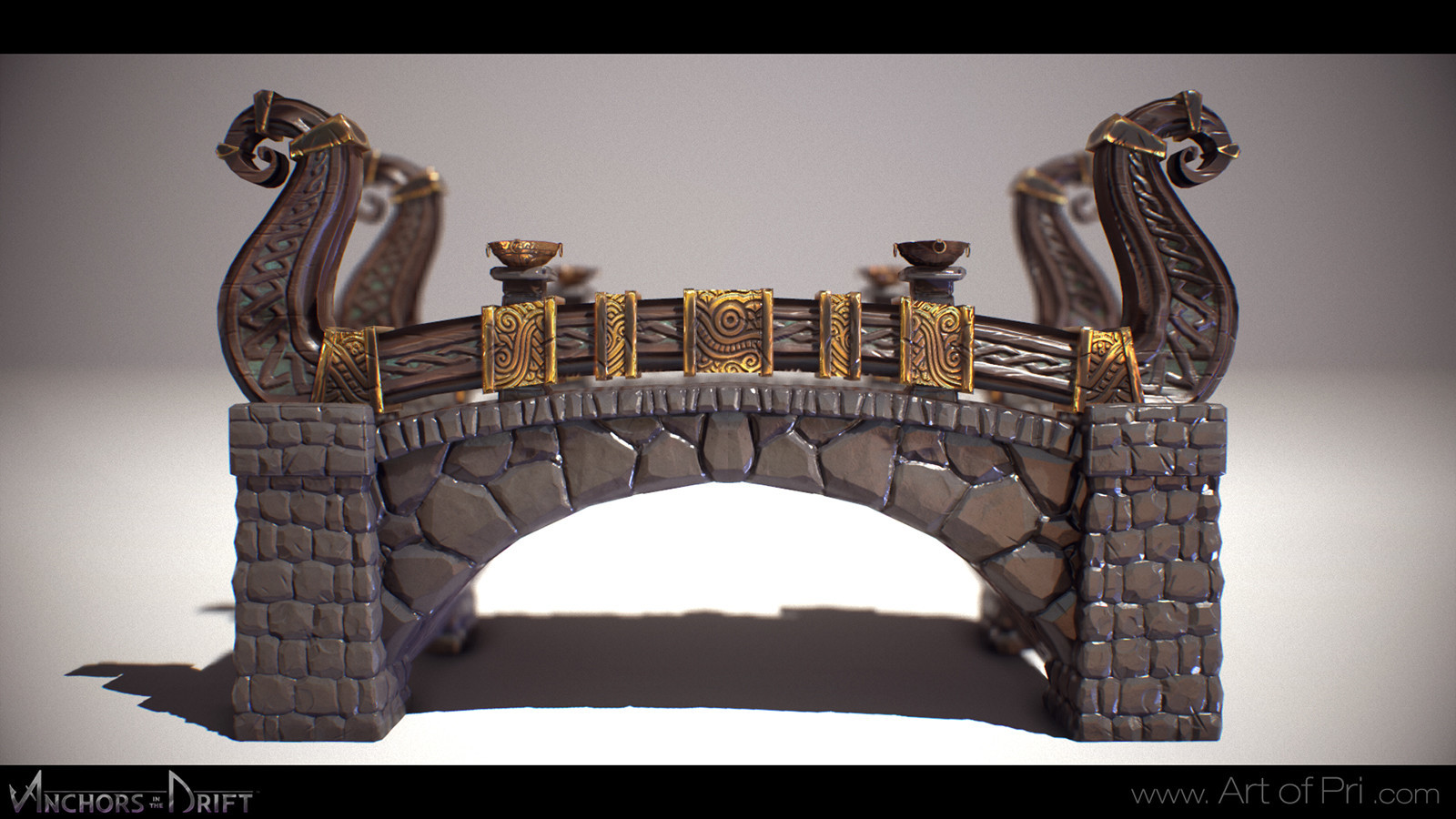 Viking Bridge. 