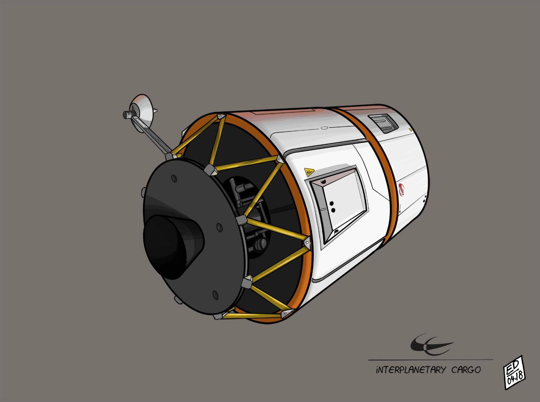 Edouard duhem interplanetary cargo 2 1
