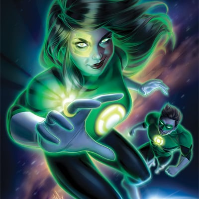 Warren louw green lanterns 48 by warren louw