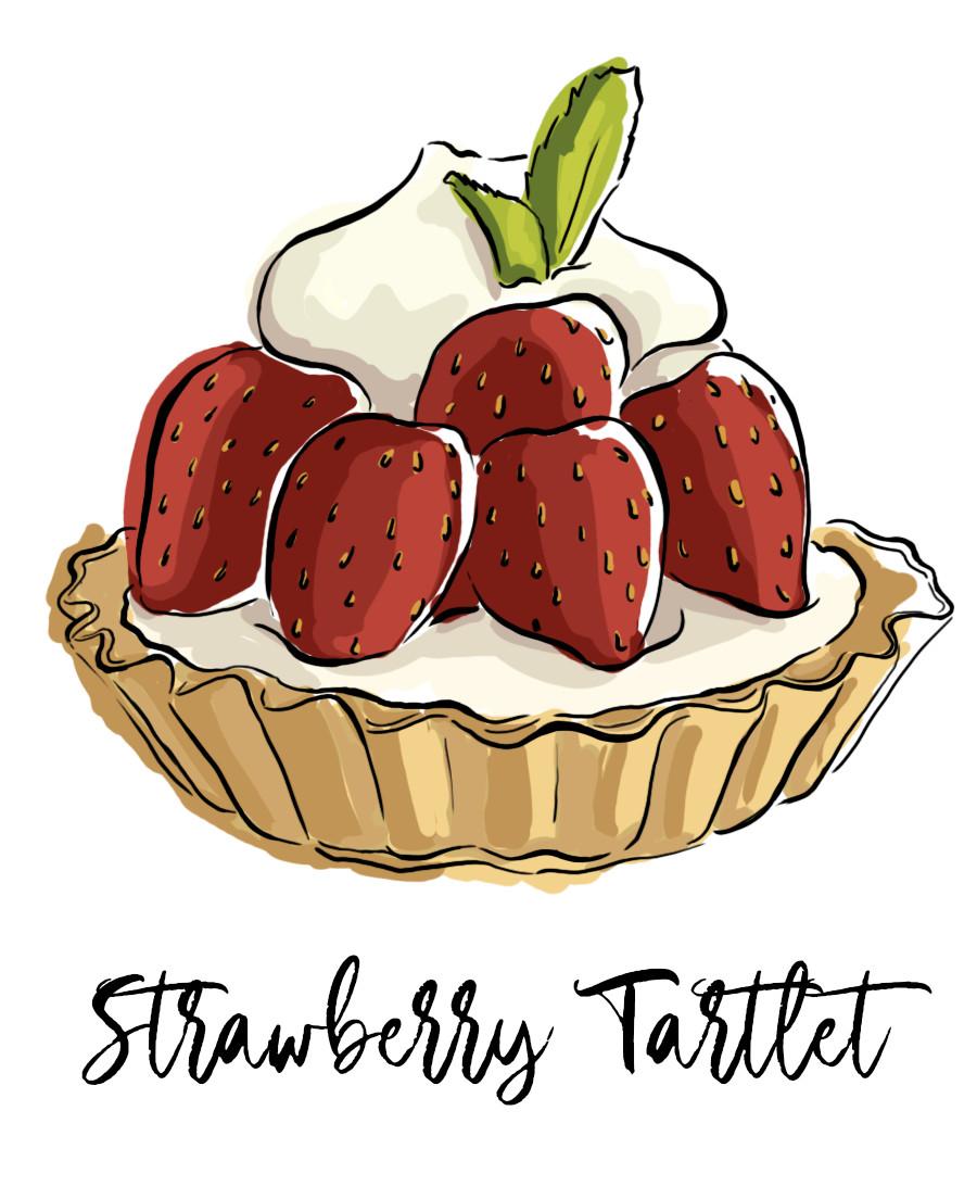 Litha bacchi strawberrytartlet
